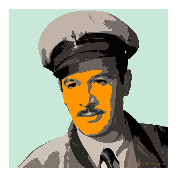 Pintura Digital Pedro Infante By Kit Karson