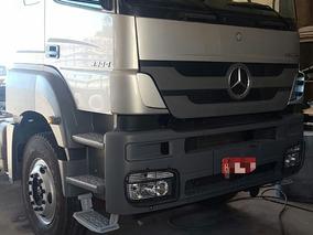 Caminhão Axor 3344 Teto Alto 6x4 Traçado Semi Novo Ano 2012.