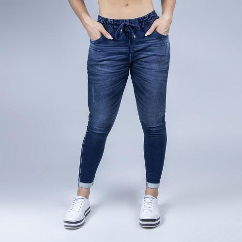 Calça Jeans Jogger Cropped Pit Bull Jeans Original
