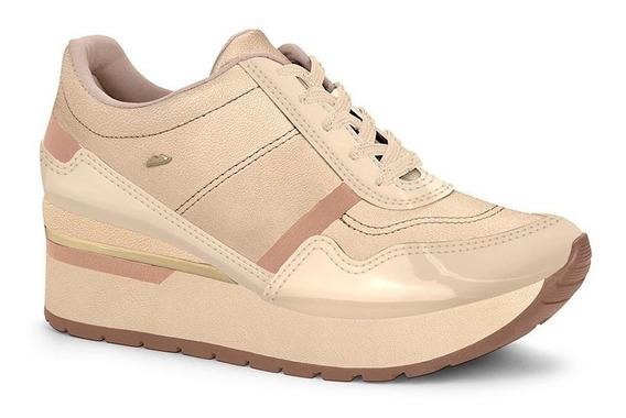 Tênis Dakota G1931 Sneaker Feminino Aveia E Branco Original