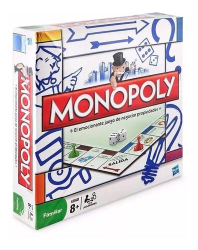 Monopoly Popular Juego De Mesa Negocios Hasbro 840 Educando