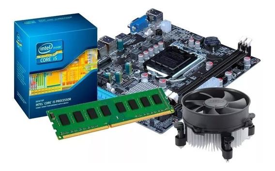 Kit Processador I5 2400 +placa H61+ 8gb+ Cooler Frete Grátis