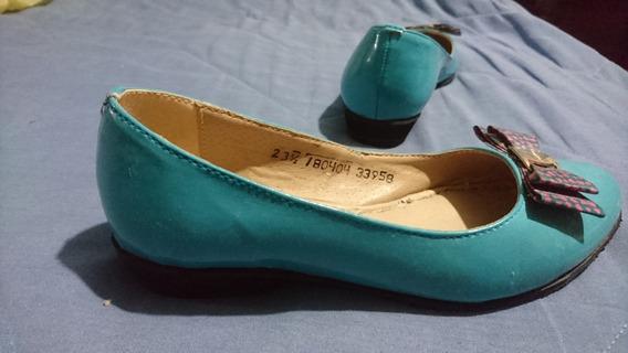 Zapato Balerina Tacón Flats
