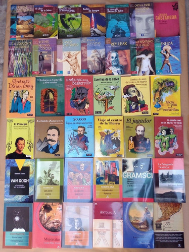 Mesa De Ofertas Adultos: $300/2x$500. Feria Del Libro.