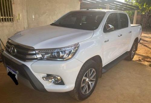 Toyota Hilux 2018 2.7 Srv Cab. Dupla 4x4 Flex Aut. 4p Diesel