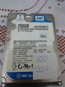 Placa Hd Western Digital Wd2500bevt - 007