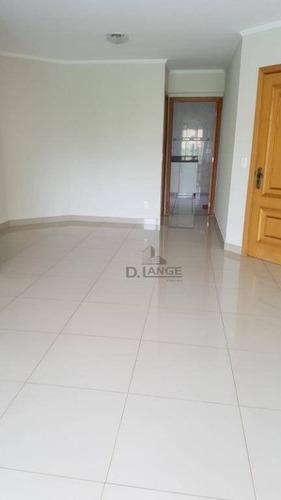 Imagem 1 de 22 de Mansões Santo Antonio - Vendo (p/ Investidor Já Alugado) - Apartamento Ótimo Padrão - Campinas Sp. - Ap12056