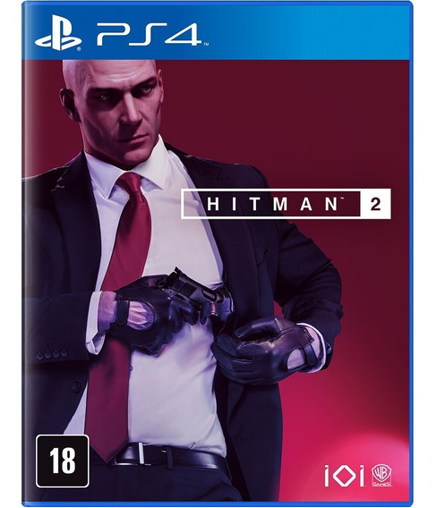 Jogo De Playstation 4 Hitman 2 Ps4 Usado