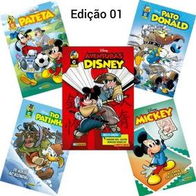 Lançamento Kit 10 Gibis Disney Edições 0 E 01 / Culturama