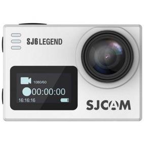 Câmera De Ação Sjcam Sj6 Legend Wifi / 4k / Nota Fisc- Prata
