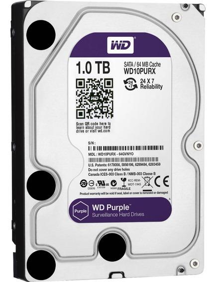 Disco Rigido 1tb Purple Western Digital Cctv Seguridad Para Grabadora Dvr