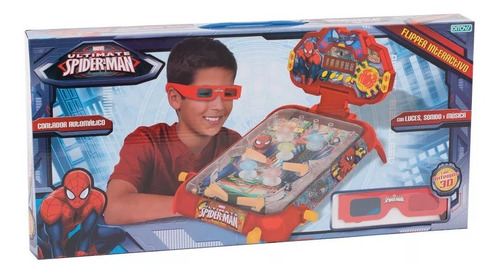 Spiderman 3d Flipper With 3d Glasses Ditoys