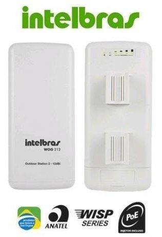 Roteador Wireless(cpe) 2,4ghz 12dbi - Wog 212 Intelbras