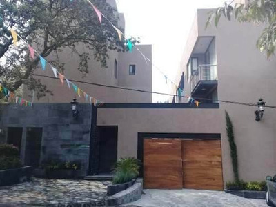 Casa Nueva En Renta Condominio 3 Rec. Ajusco. Tlalpan