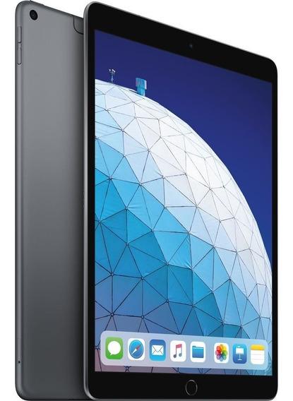 iPad Air 10,5 256gb Wifi+4g Cinza Espacial Garant1 Ano 2019