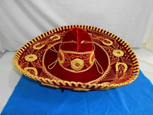 Antigo Sombreiro Mexicano Marca Calidad