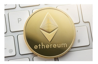 Moneda Simbolica Ethereum - Gold