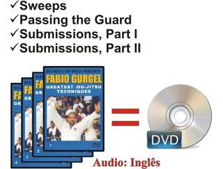 Dvd Fábio Gurgel Greatest Jiu Jitsu Techniques-frete Grátis!