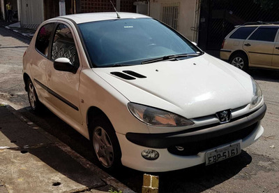 Peugeot 206 Ano 2008 Completo