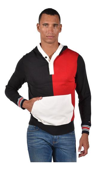 Suéter Tommy Hilfiger Rojo Mw0mw05068-611 Hombre