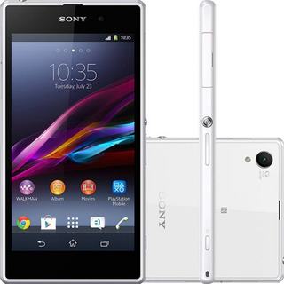 Sony Xperia Z1 C6943 Tv 16gb 20.7mp Branco Original Vitrine
