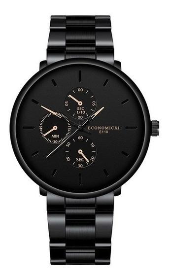 Relógio De Pulso Herren Uhren Economicxi E110 - Quartzo