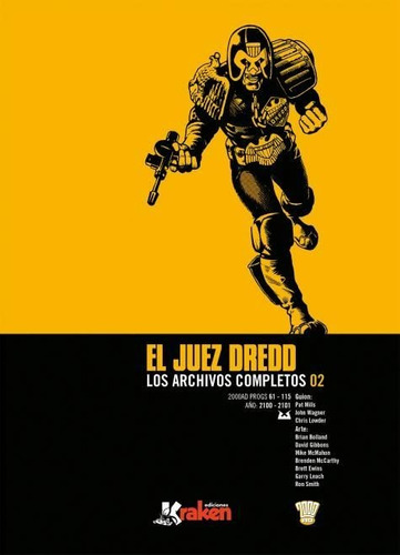 Juez Dredd Los Archivos Completos 2, Aa.vv., Kraken