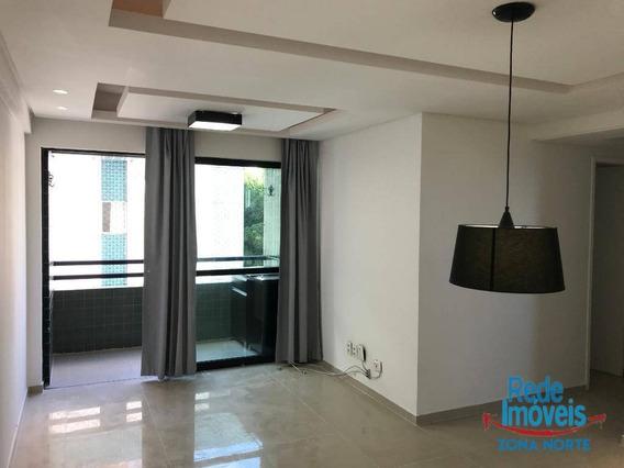 Apartamento Com 3 Dormitórios À Venda, 72 M² Por R$ 380.000,00 - Madalena - Recife/pe - Ap6991