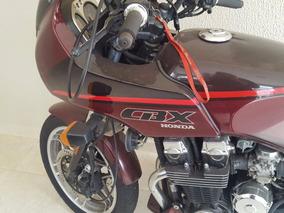 Honda Cbx 750-f - 1989 - 77.000 Km Motor Novo Com Nota Fisca