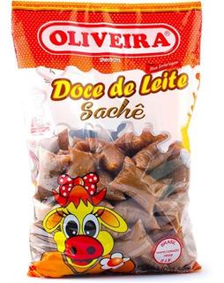 Doce De Leite Oliveira Sachê - Pacote De 1,5 Kg-atacado