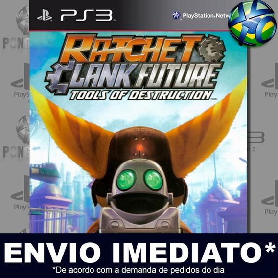 Ratchet & Clank Future Tools Of Destruction Ps3 Psn Promoção