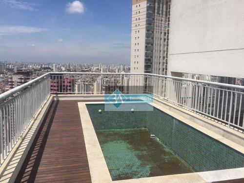Cobertura Residencial À Venda, Jardim Anália Franco, São Paulo. - Co0088