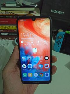 Celular Huawei Y7 2019 - Praticamente Novo