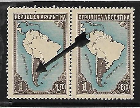 Mapa Sudamerica Con Limites - Gj 760/760a - En Pareja
