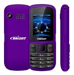 Celular 2 Chips Bright Bluetooth Mp3 Radio Lanterna Câmera