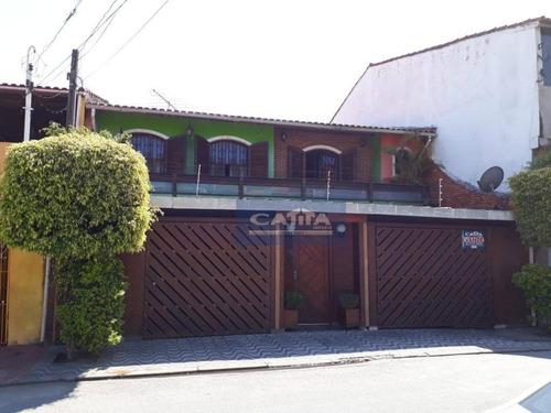 Imagem 1 de 19 de Sobrado Á Venda Em Guaianazes, Com Piscina. - So13721
