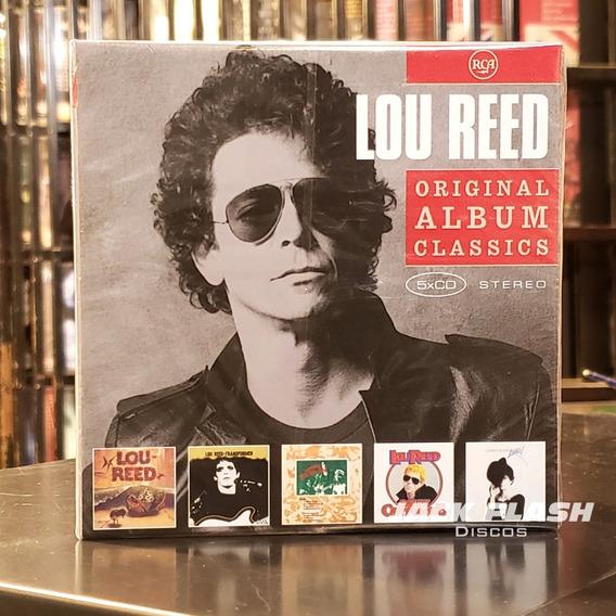 Lou Reed - Original Album Classics 5x Cd Box Set