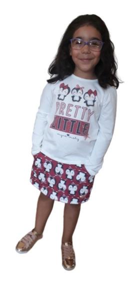 Roupas De Inverno Infantil Feminino Para Festas Luxo