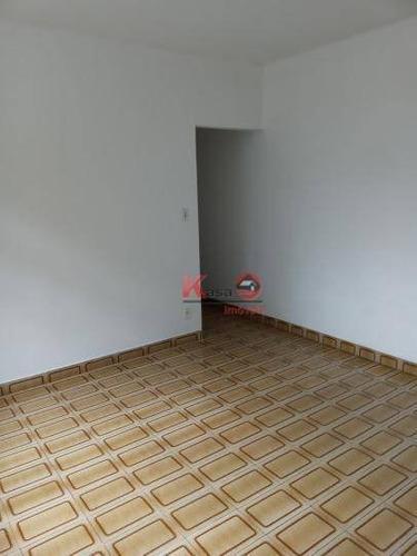 Apartamento Com 2 Dormitórios À Venda, 88 M² Por R$ 300.000,00 - Encruzilhada - Santos/sp - Ap10088