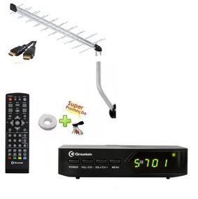 G200 Conversor Digital, Antena, Amplificador E Cabo