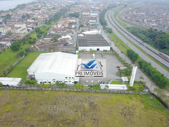 Terreno À Venda, 14533 M² Por R$ 29.000.000,00 - Jardim Casqueiro - Cubatão/sp - Te0011
