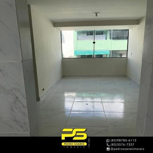 Apartamento Com 3 Dormitórios À Venda, 84 M² Por R$ 159.000 - Jardim Cidade Universitária - João Pessoa/pb - Ap3657