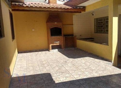 Imagem 1 de 11 de Casa Com 3 Dormitórios À Venda, 276 M² Por R$ 550.000,00 - Parque Capuava - Santo André/sp - Ca0919