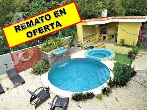Remato Casa En Venta Amueblada De 7 Recámaras Residencial En Campestre, Cancun.