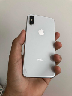 iPhone X 64gb Prata Desbloqueado Semi Novo