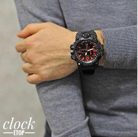 Relógio Masculino Smael Camuflado Com Caixa Importado