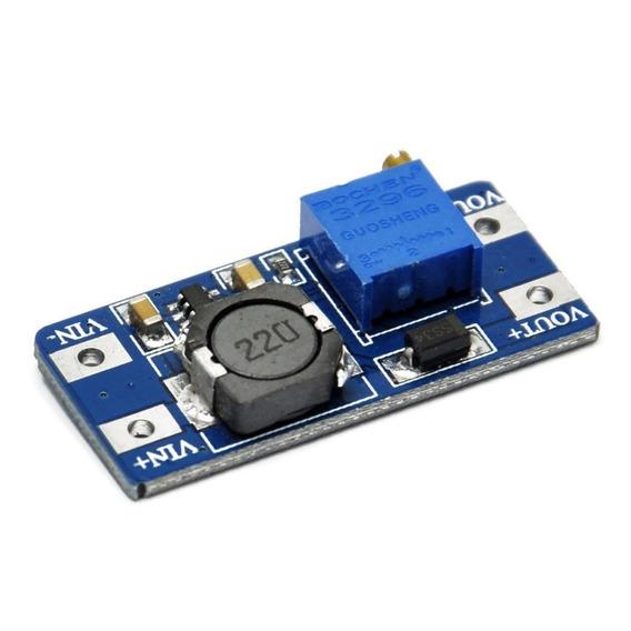 Convertidor Dc-dc Boost Step Up Mt3608 2a Hasta 28v Calidad!