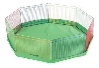 Corral De Juego Para Pequeñas Mascotas Con Tapete Incluido.