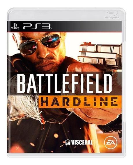 Battlefield Hardline Ps3 Mídia Física Pronta Entrega