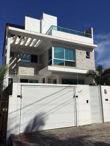 Casa Mobiliada Alto Padrão Na Praia Brava - 41461
